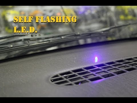 Self Flashing L.E.D. (Dummy Alarm / Security System)