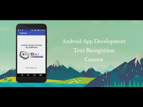 Android Studio Tutorial - Text Recognition by Camera using Google Vision