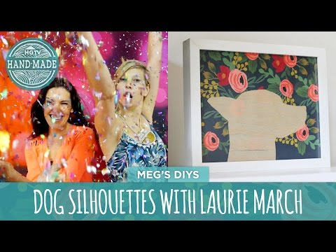 DIY Dog Silhouettes with Laurie March - HGTV Handmade