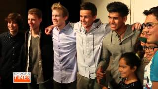 Download New boy band, Hollintown, performs positive pop Video
