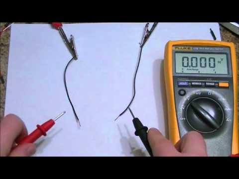 How to quickly determine the polarity of your DC power supply with a multimeter