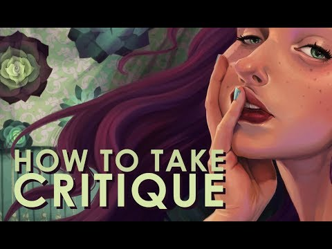 HOW TO TAKE CRITIQUE | Procreate & Ipad Pro SPEED PAINT & TIME LAPSE