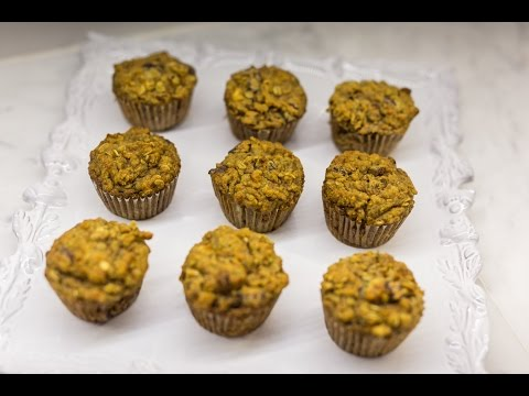 Super Healthy Zucchini Carrot Muffins