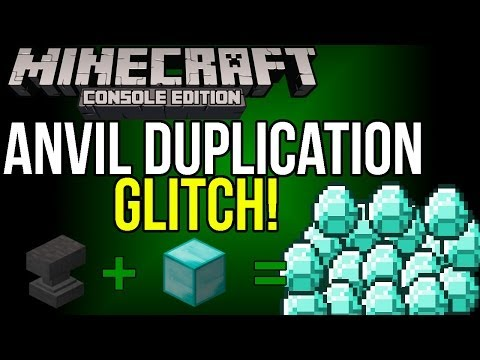 Minecraft Xbox & PS3: [Anvil] How to Duplicate Items with an Anvil! | Anvil Duplication Glitch!
