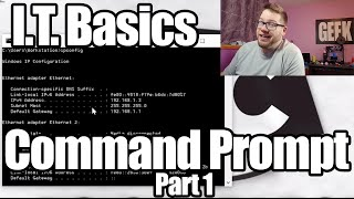 Basic Skills For Entry Level I.t. Jobs - Command Prompt Part 1
