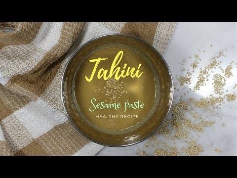 How to make TAHINI - sesame paste - Recette Tahini