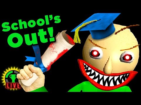 THE FINAL TEST?! | Baldi's Basics in Education and Learning (Part 3)