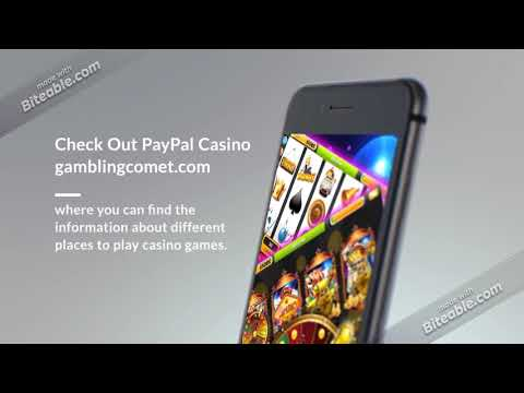 Gamble online with Real Money using PayPal