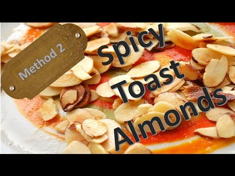 How to Toast almonds in the Microwave-Best Recipe
