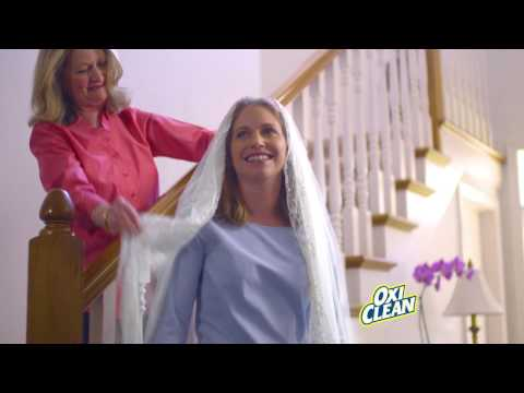 Dear OxiClean: You Rescued My Grandma's Veil