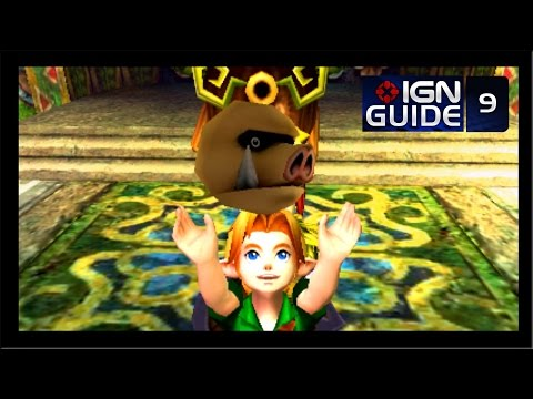 The Legend of Zelda: Majora's Mask 3D Walkthrough - After Woodfall Temple (Part 9)