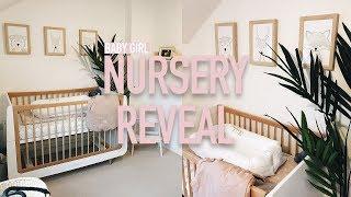 DECORATING THE NURSERY // NURSERY REVEAL!!!