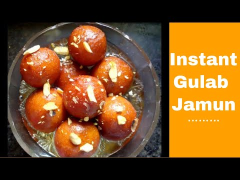 Gulab Jamun Recipe with Instant  Mix( Gits,mtr) in Hindi   गुलाब जामुन बनाने की विधि   Deepali