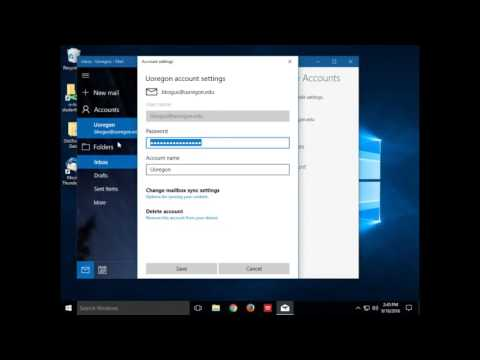 How to edit your SMTP password in Windows Mail