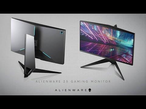 Unboxing Monitor Alienware Free-sync De 25 polegadas Aw2518hf