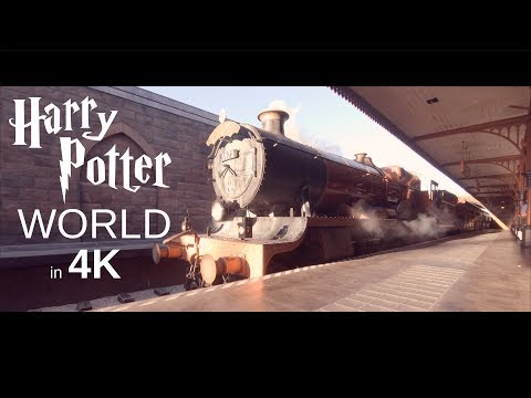 Escape to the Wizarding World of Harry Potter in 4K.