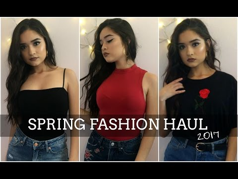 SPRING 2017 TRY-ON HAUL | Forever 21, Zaful + SheIn!