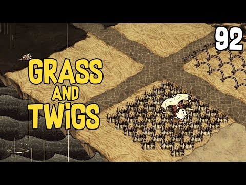 Building a Grass & Twig Area - Don't Starve: Reign of Giants/Shipwrecked Gameplay - Part 92