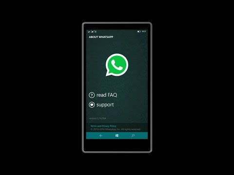 whatsapp update for windows 10 mobile