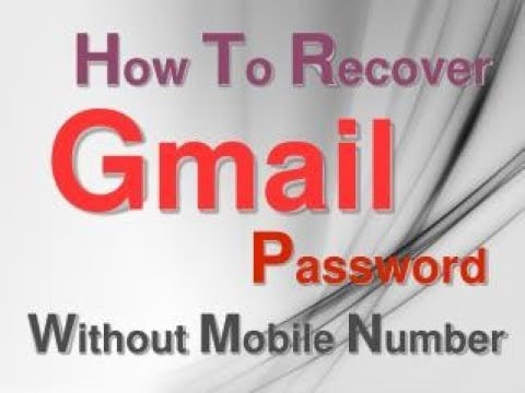 How to recover gmail account without phone number |Watch video