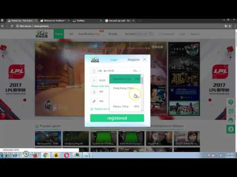 How to register on PandaTV without real phone number - from anywhere
