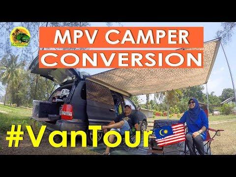 S2 EP 9 | MPV Camper Conversion | CAMPERVAN TRAVEL
