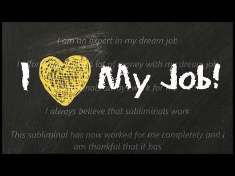 Dream job subliminal