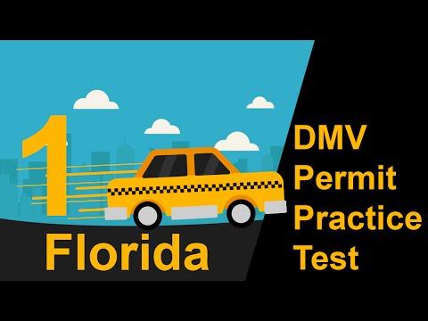 Florida DMV Permit Practice Test 1 - 2018