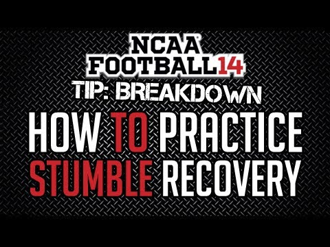 Madden 25 Tips / NCAA 14 : Tips : Practice Recovering From Stumble + NCAA 14 Guides Available