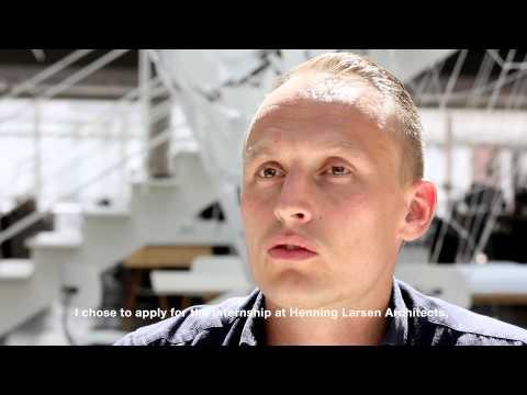 Constructing Architect Internship at Henning Larsen Architects