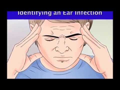 How to know that you have an ear infection