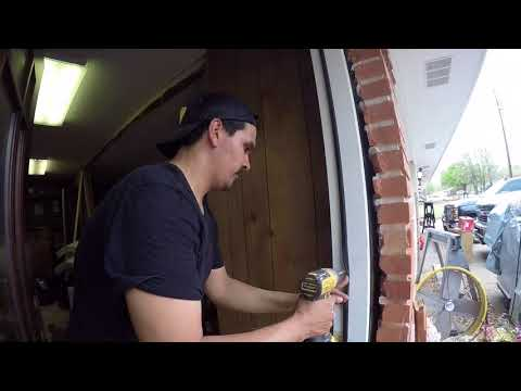 BRICK CUT & EXTERIOR DOOR INSTALL