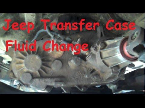 Jeep Wrangler YJ - Fluid change in a NP231 transfer case.