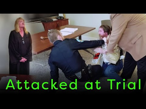 Man Attacked by Police at His Own Trial!