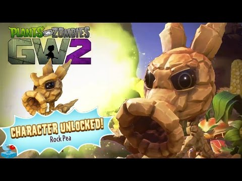 Plants vs. Zombies Garden Warfare 2 - Unlock Rock Pea (PVZGW2 Xbox One)