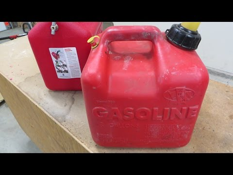 Fix a New Gas Can in 5 Minutes - Adding a Vent