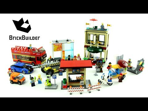 Lego City 60200 Capital City - Lego Speed Build