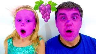 Download Песенка для детей про фрукты и цвета от Лайк Настя Video