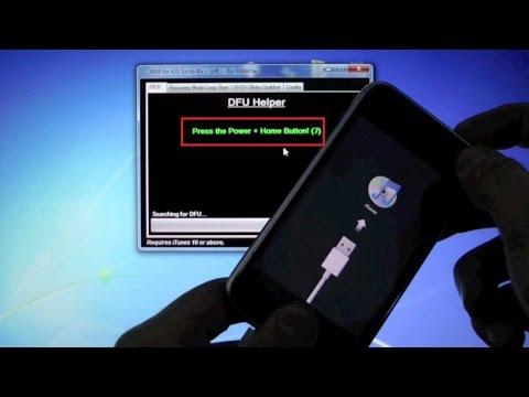 Iphone 3GS remove screen lock. restore firmware