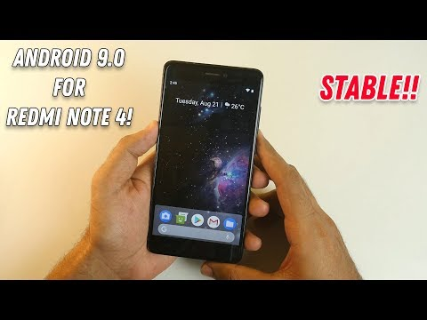 Android Pie (9.0.0) for Redmi Note 4! Installation guide with working Google Camera!