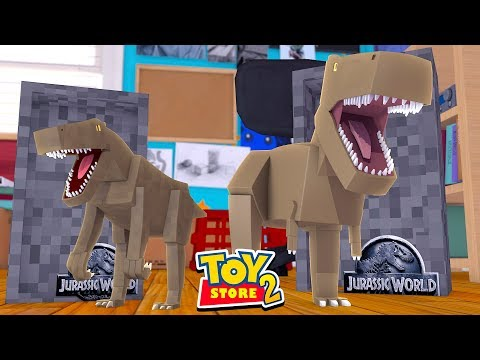 Toy Store 2 - JURRASIC WORLD 2 TOYS TRY TO EAT US! w/TinyTurtle