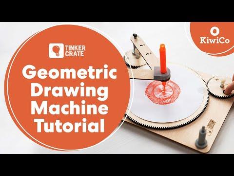 Build a Geometric Drawing Machine - Tinker Crate