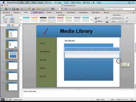 Prototyping PowerPoint