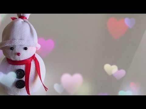 How to make Snowman with socks / Christmas Decoration Idea   Priti Sharma