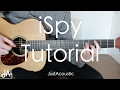 How To Play: iSpy - KYLE ft. Lil Yachty (Guitar Tutorial Lesson)