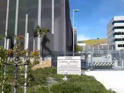First Amenment Test FBI San Diego On Site