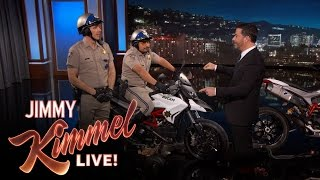 Dax Shepard and Michael Pena Debut CHIPs Trailer