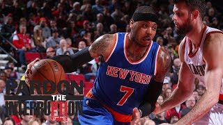 Should Carmelo Anthony accept a trade to the Trail Blazers? | Pardon The Interruption | ESPN