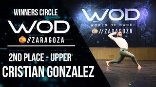 CRISTIAN GONZALEZ   2nd Place Upper   Winners Circle   World of Dance Zaragoza 2017   #WODZGZ17