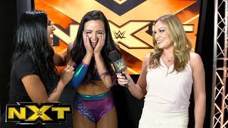 Peyton Royce is ready to cry following her big triumph: Exclusive, Oct. 11, 2017